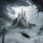 Castle, mist, full moon (Whisper Publishing)