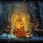 Christmas tree and lights (Whisper Publishing)