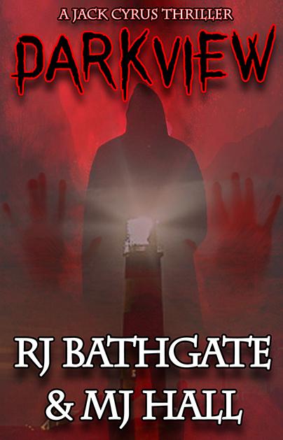Darkview Front Cover Mk2 by RJ Bathgate & MJ Hall (Whisper Publishing)
