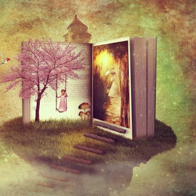 OPEN BOOK FANTASY IMAGE FROM DARKWORKX AT PIXABAY